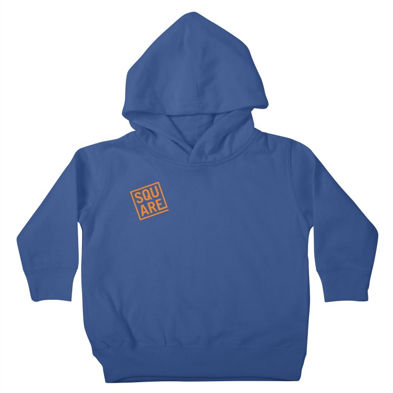 SQUARE Kids Toddler Pullover Hoody by 144design