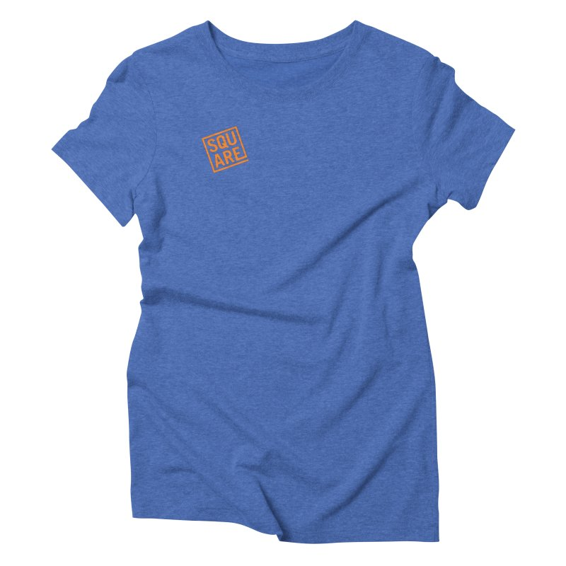 SQUARE Women's Triblend T-Shirt by 144design