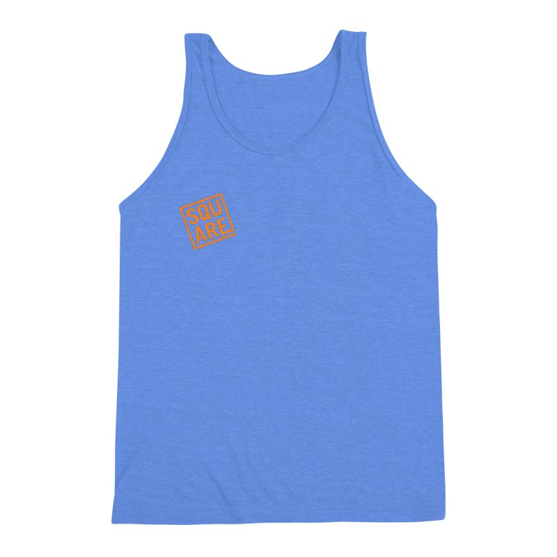 SQUARE Men's Triblend Tank by 144design