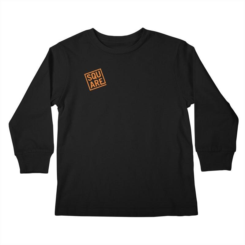 SQUARE Kids Longsleeve T-Shirt by 144design
