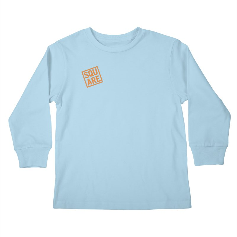 SQUARE Kids Longsleeve T-Shirt by 144design