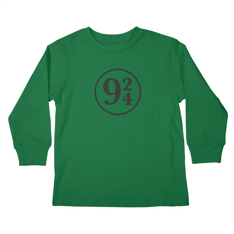 9 2 4  Kids Longsleeve T-Shirt by 144design