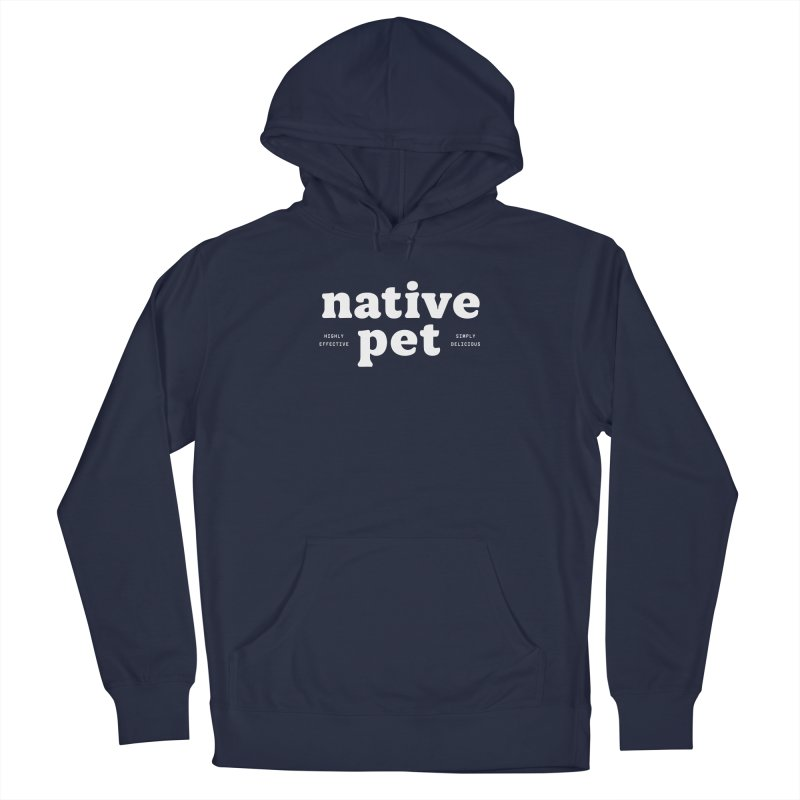 Native Pet - white Men's Pullover Hoody by 144design