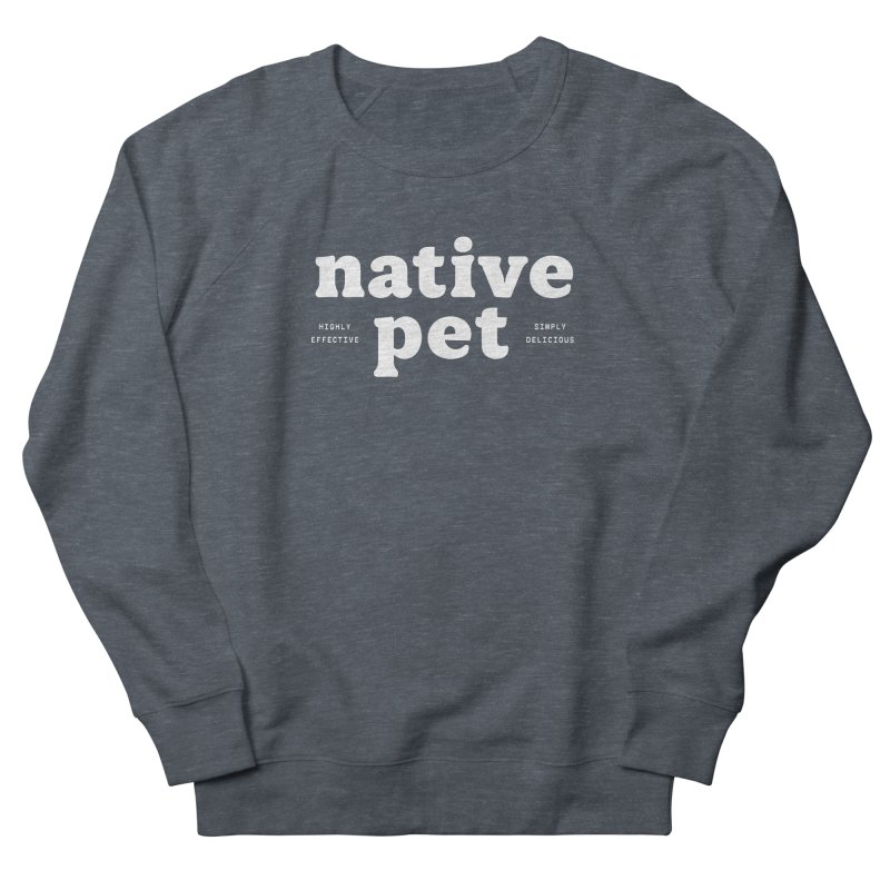 Native Pet - white Women's Sweatshirt by 144design
