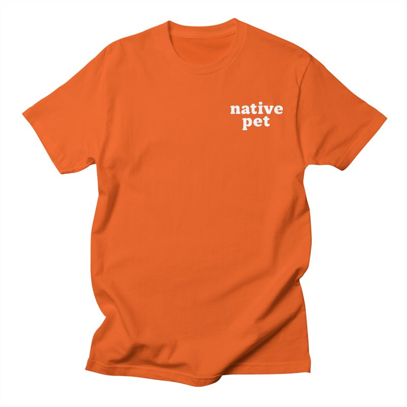 Native Pet - left chest Men's T-Shirt by 144design