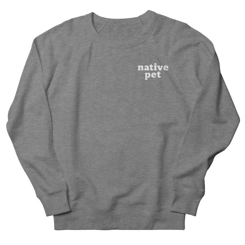Native Pet - left chest Women's Sweatshirt by 144design