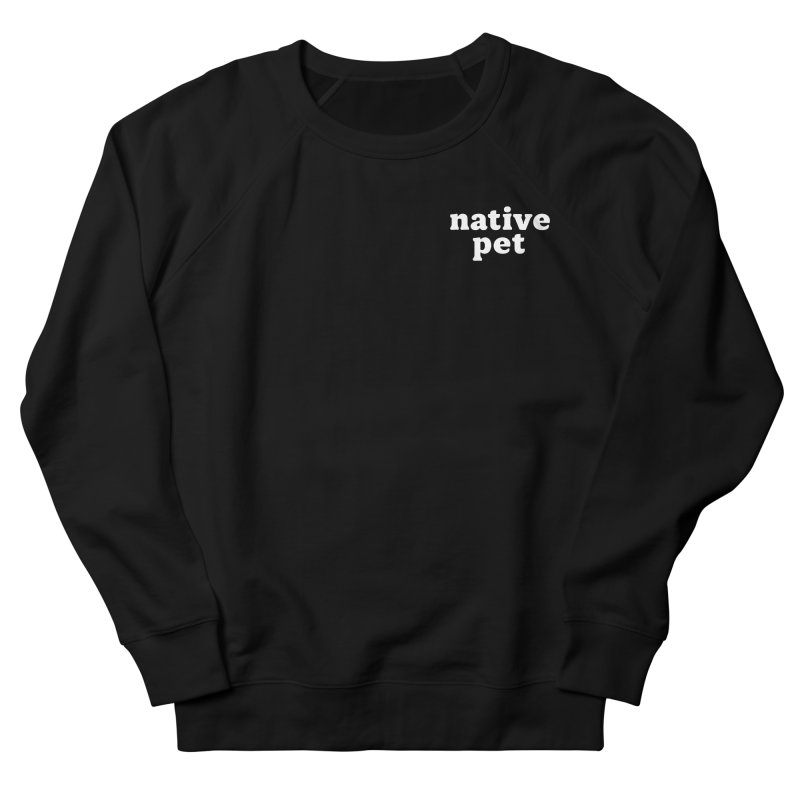 Native Pet - left chest Men's Sweatshirt by 144design