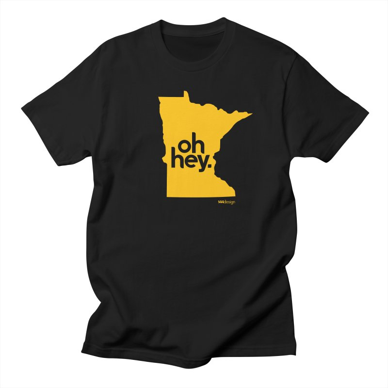 Oh Hey : Minnesota Men's T-Shirt by 144design