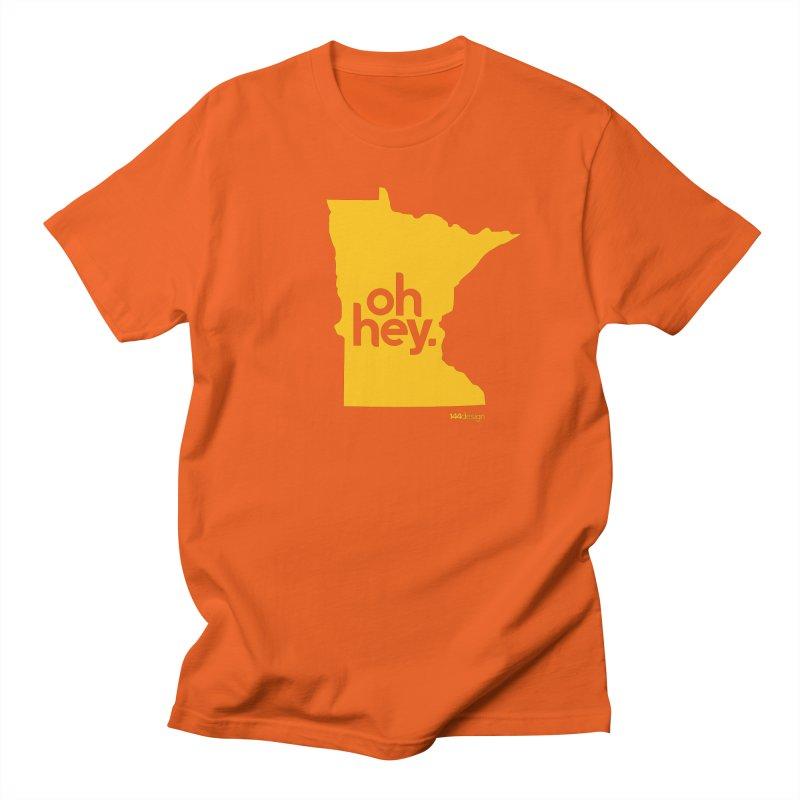 Oh Hey : Minnesota Men's T-Shirt by 144design