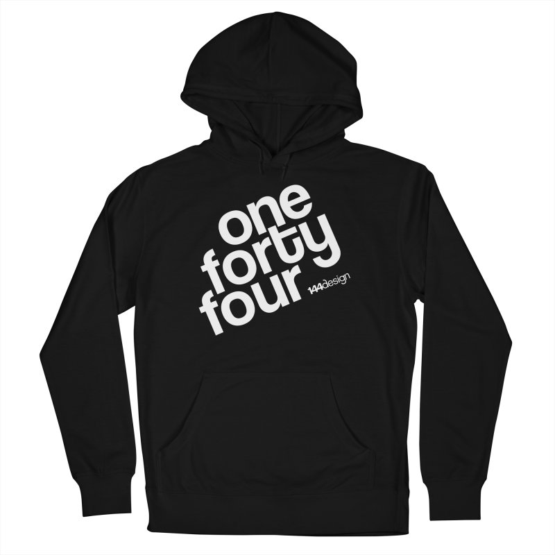 onefortyfour-white Women's Pullover Hoody by 144design