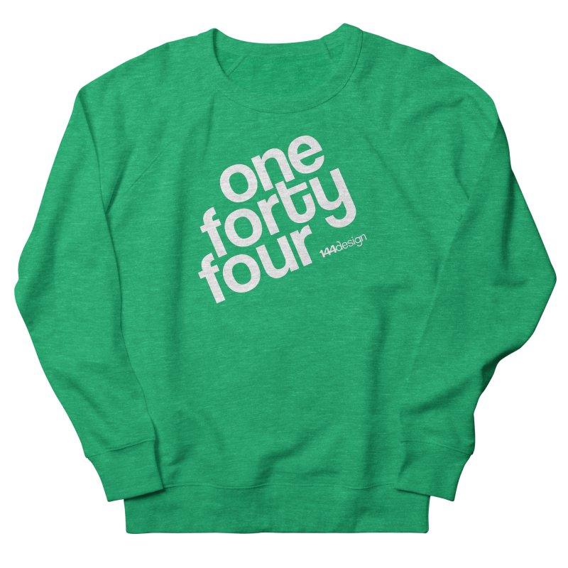onefortyfour-white Women's Sweatshirt by 144design