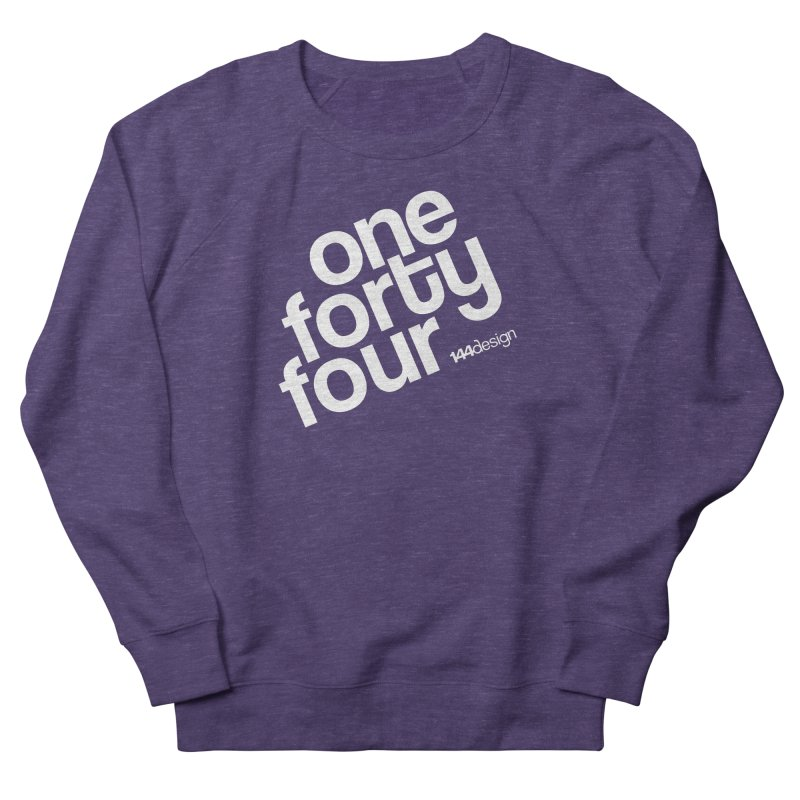 onefortyfour-white Women's Sweatshirt by 144design