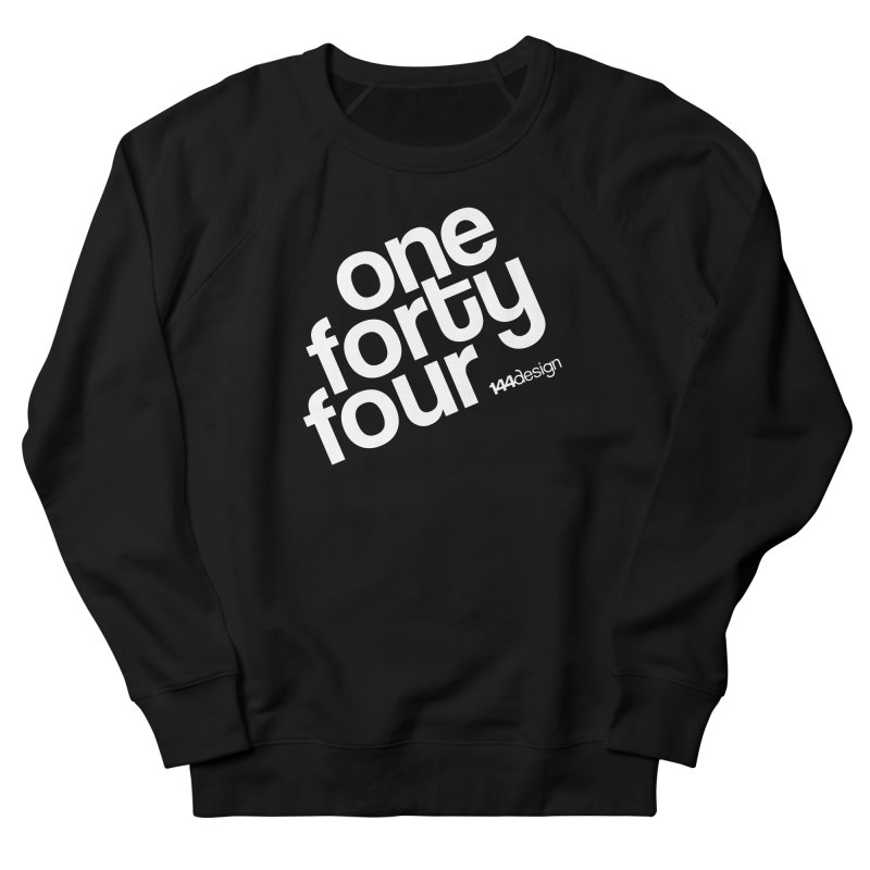 onefortyfour-white Women's French Terry Sweatshirt by 144design