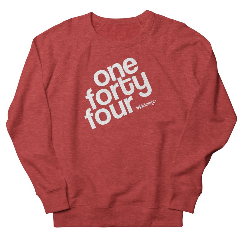 onefortyfour-white Men's Sweatshirt by 144design