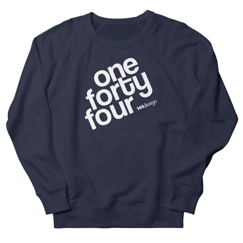 onefortyfour-white Men's Sweatshirt by 144design