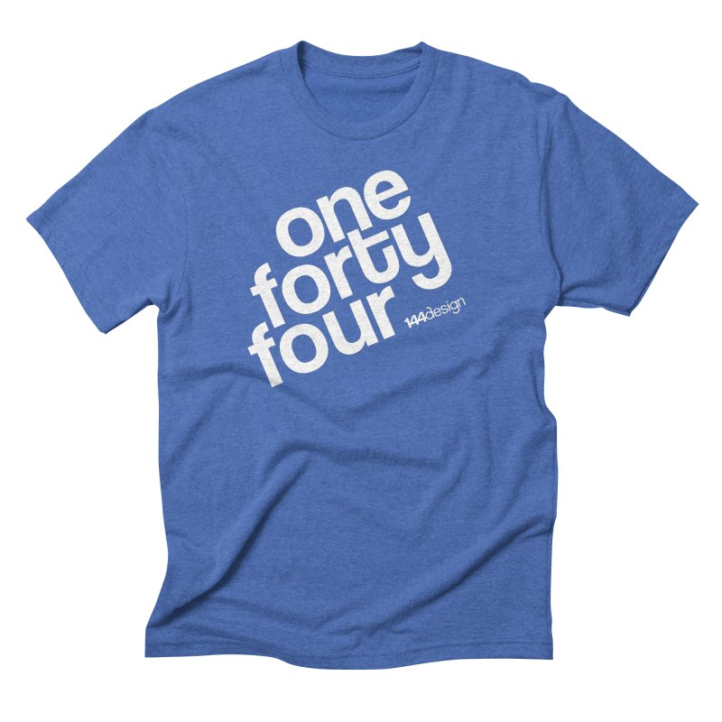 onefortyfour-white Men's Triblend T-shirt by 144design