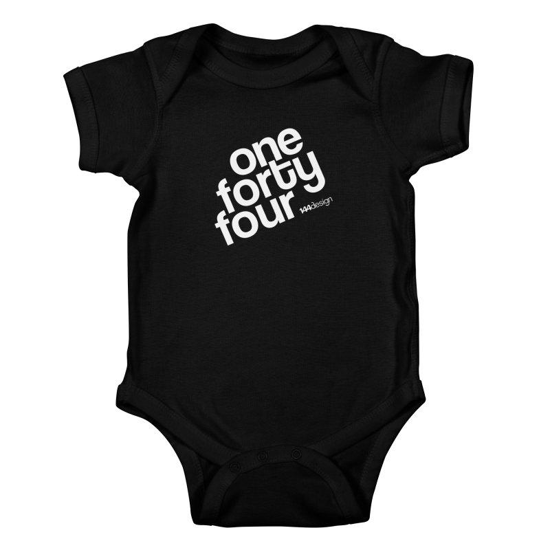 onefortyfour-white Kids Baby Bodysuit by 144design