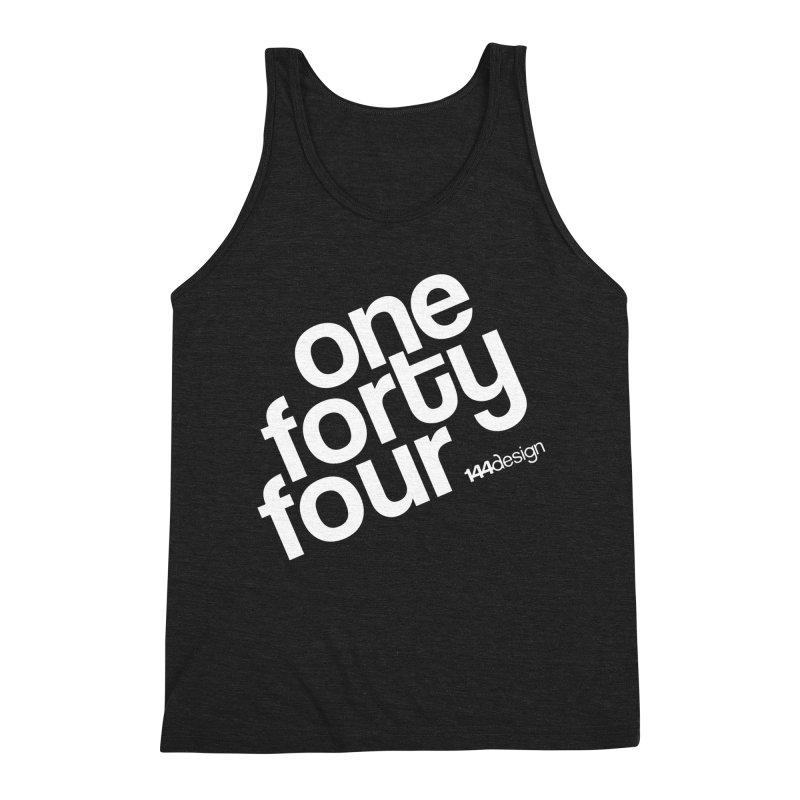 onefortyfour-white Men's Tank by 144design
