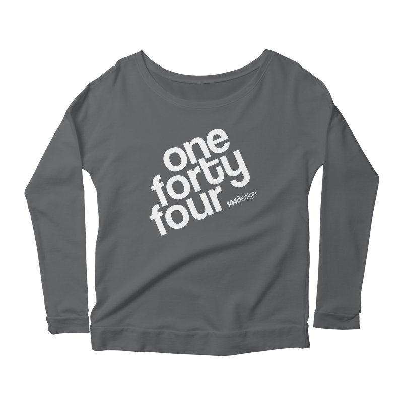 onefortyfour-white Women's Longsleeve T-Shirt by 144design