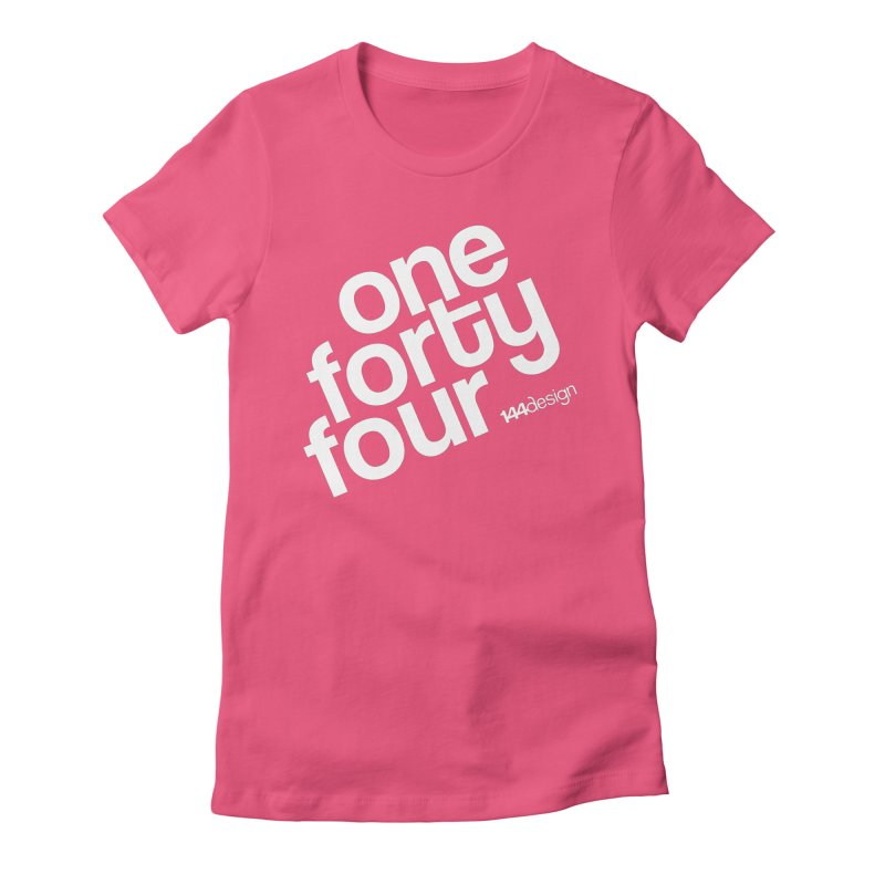 onefortyfour-white Women's T-Shirt by 144design