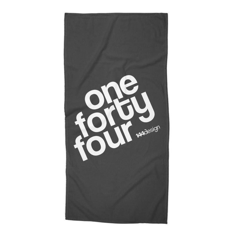 onefortyfour-white Accessories Beach Towel by 144design