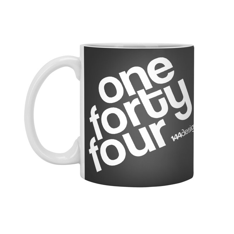 onefortyfour-white Accessories Mug by 144design