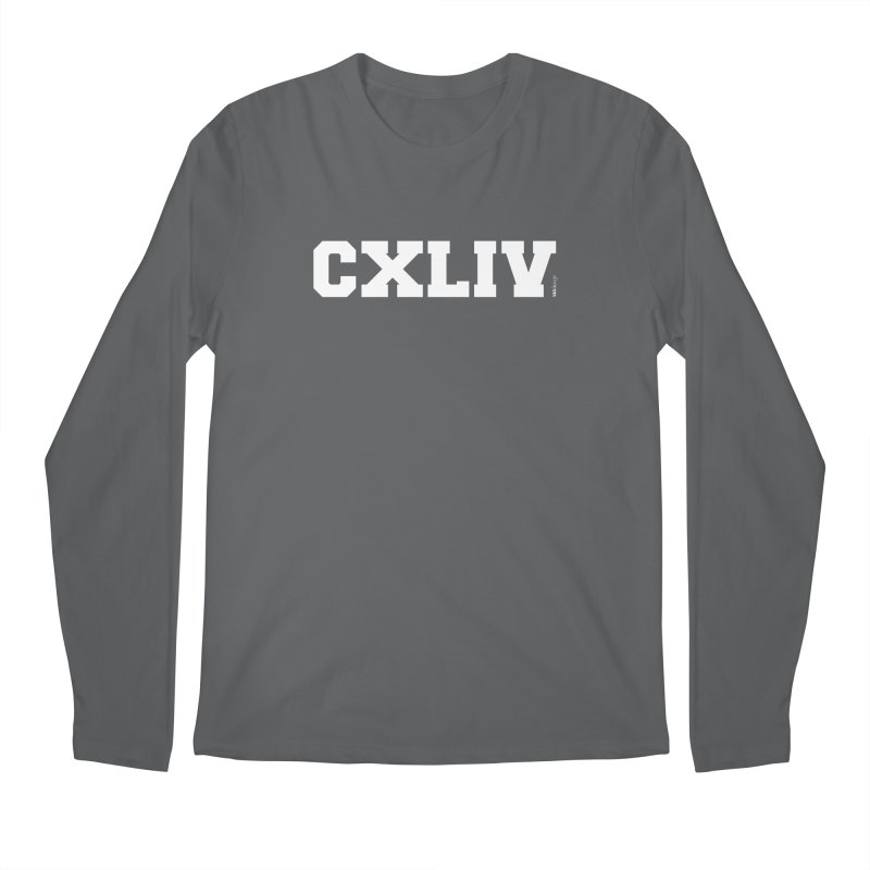 CXLIV (White) Men's Longsleeve T-Shirt by 144design