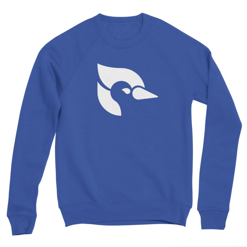 ClueJay 1 Color White Women's Sweatshirt by 144design