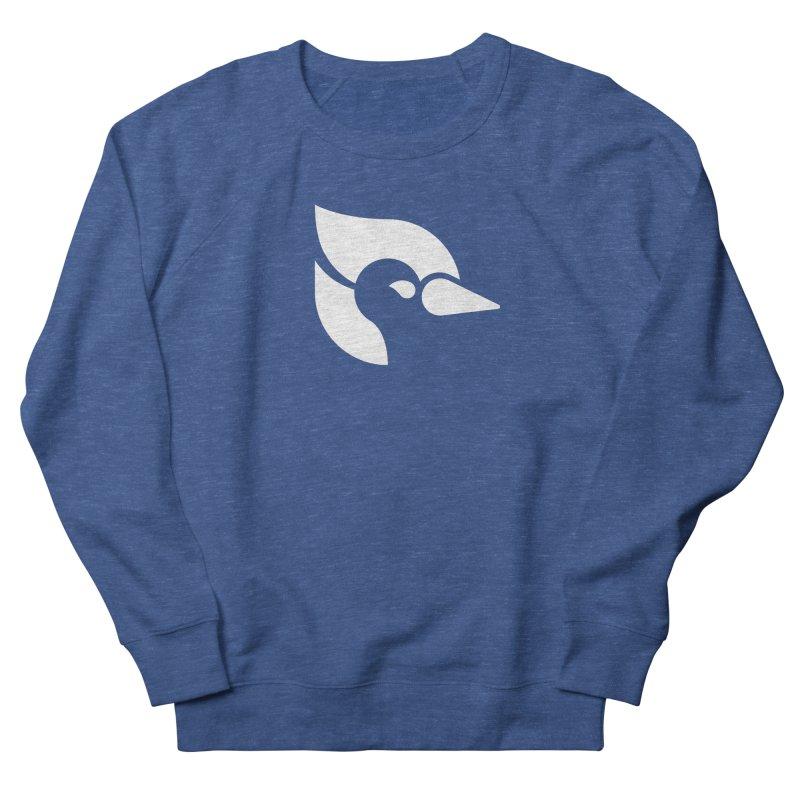 ClueJay 1 Color White Men's Sweatshirt by 144design