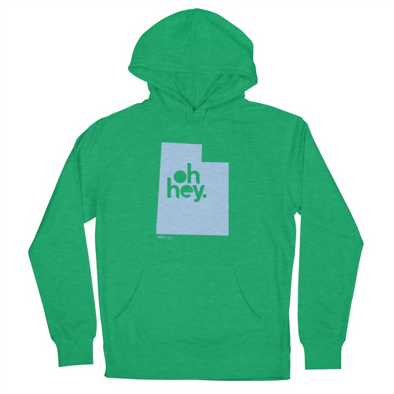 Oh Hey - Utah Men's Pullover Hoody by 144design