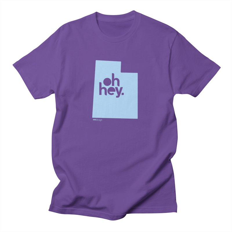 Oh Hey - Utah Men's T-Shirt by 144design