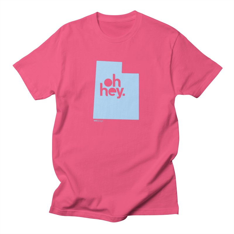 Oh Hey - Utah Men's Regular T-Shirt by 144design