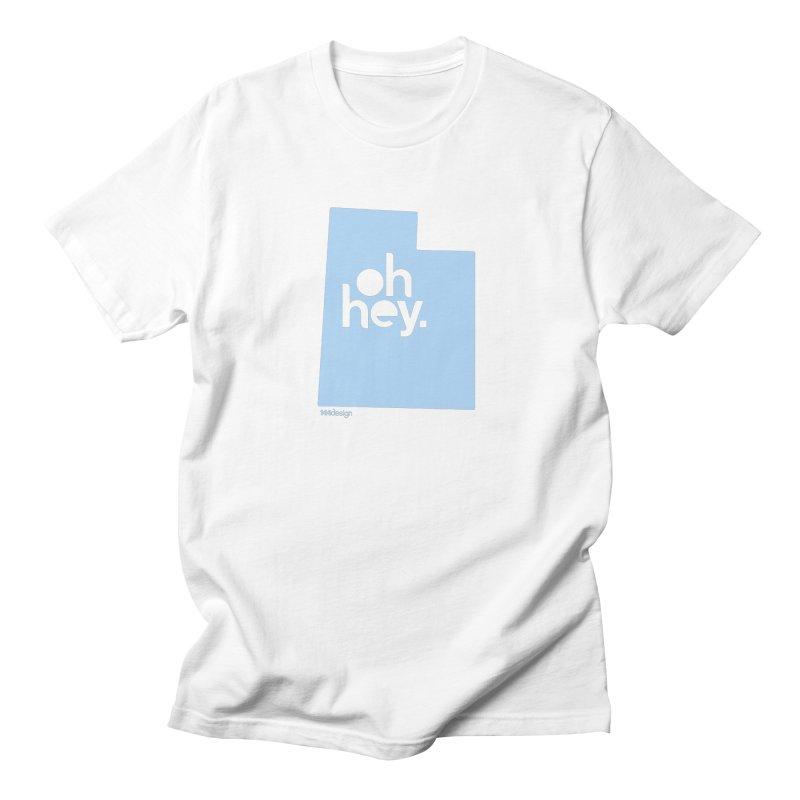 Oh Hey - Utah Men's Regular T-Shirt by 144design