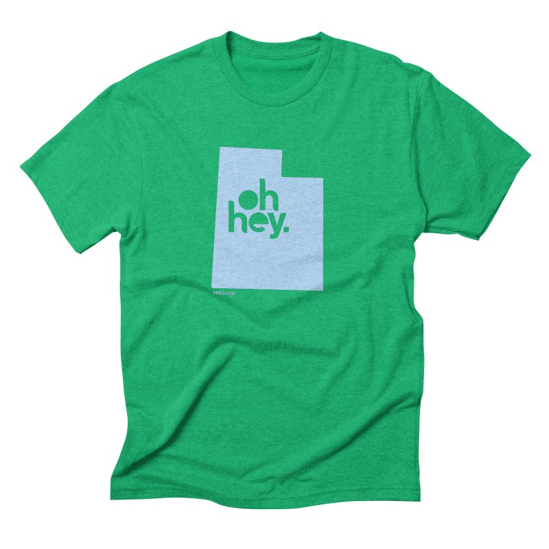 Oh Hey - Utah Men's T-Shirt by 144design