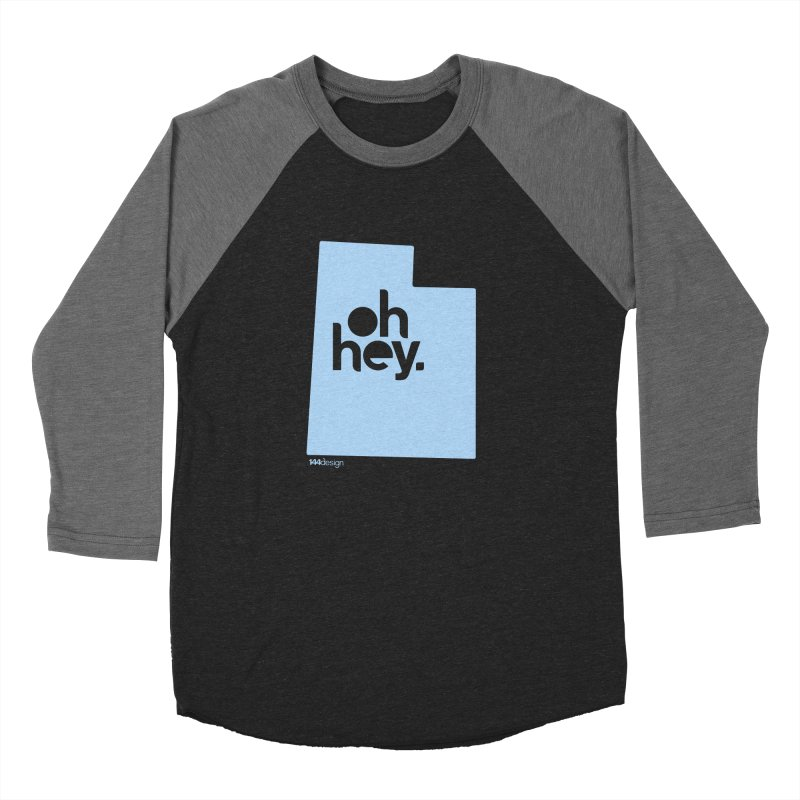 Oh Hey - Utah Women's Baseball Triblend Longsleeve T-Shirt by 144design