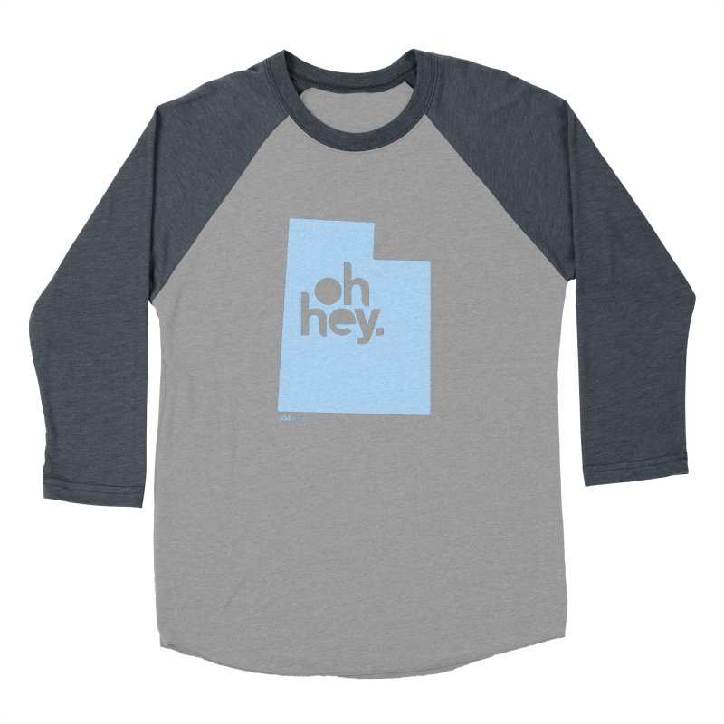 Oh Hey - Utah Men's Baseball Triblend Longsleeve T-Shirt by 144design