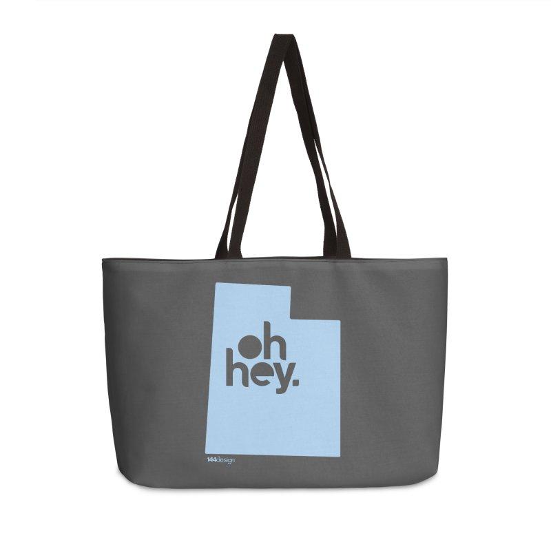 Oh Hey - Utah Accessories Bag by 144design