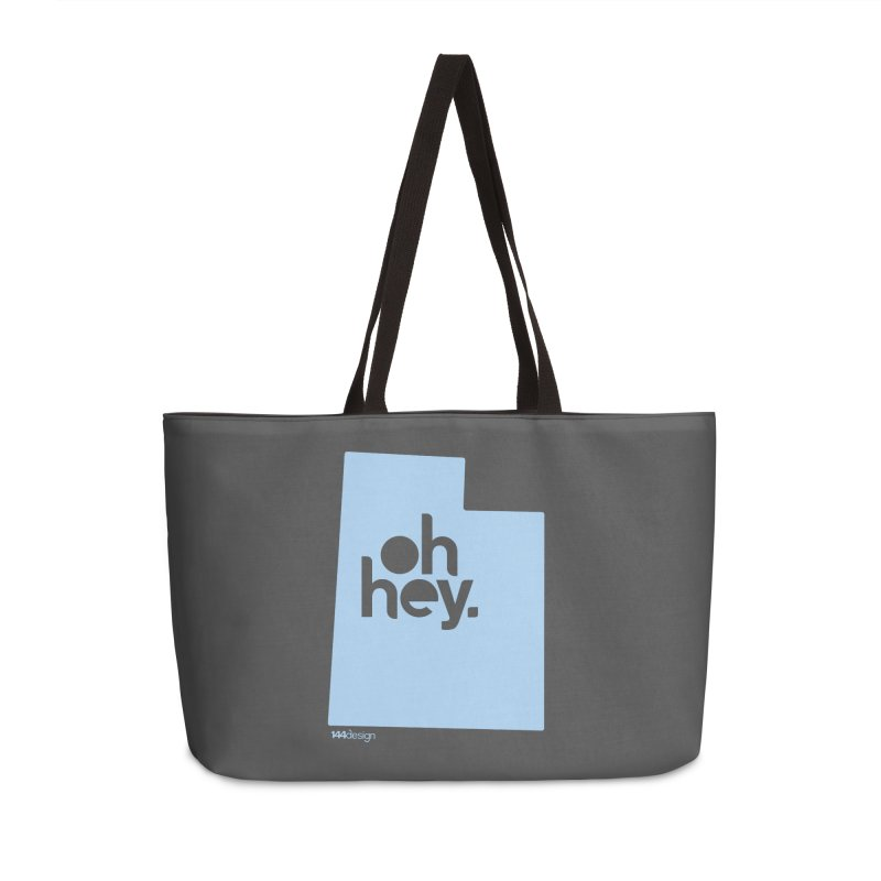 Oh Hey - Utah Accessories Bag by 144design