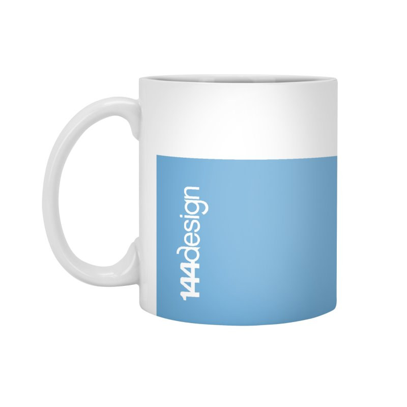 blue mug Accessories Mug by 144design