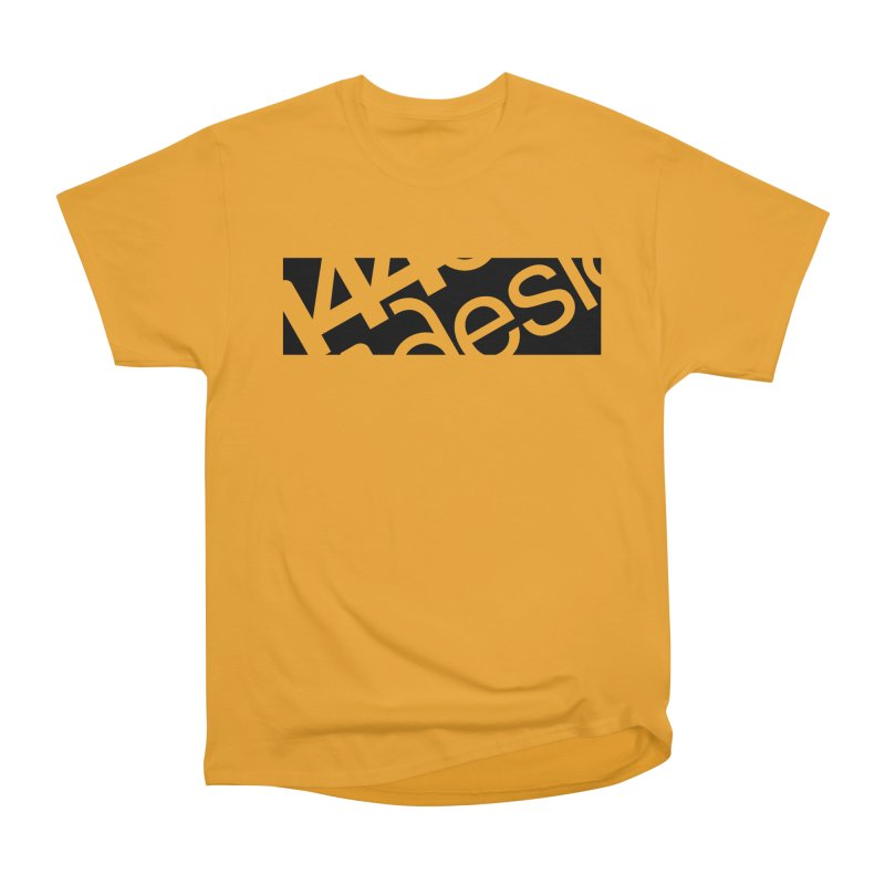 144design-black bar Women's Classic Unisex T-Shirt by 144design