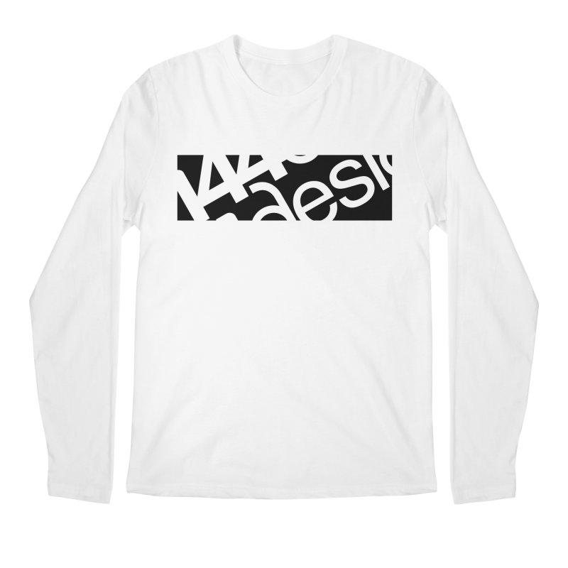 144design-black bar Men's Regular Longsleeve T-Shirt by 144design