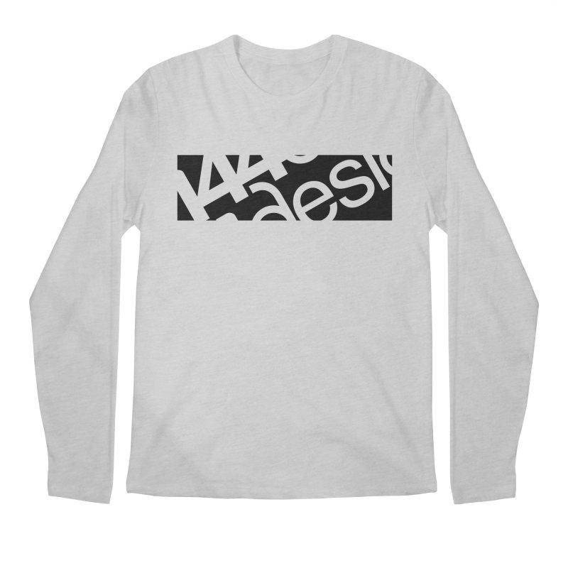 144design-black bar Men's Longsleeve T-Shirt by 144design