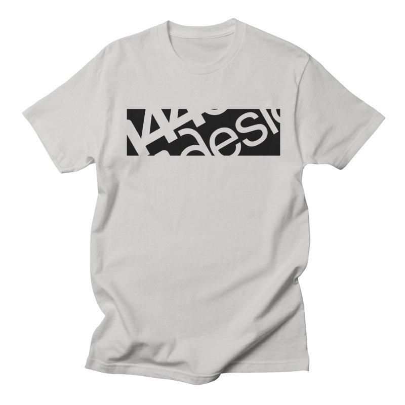 144design-black bar Men's Regular T-Shirt by 144design