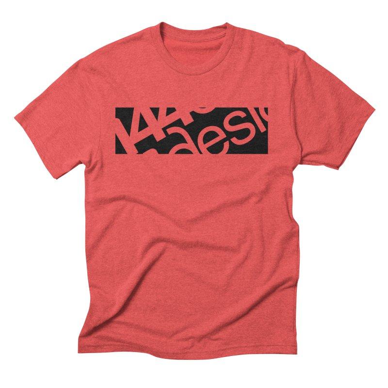 144design-black bar Men's Triblend T-Shirt by 144design
