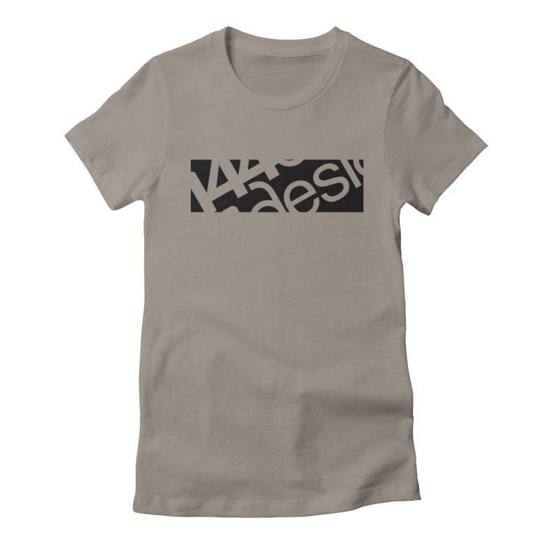 144design-black bar Women's T-Shirt by 144design
