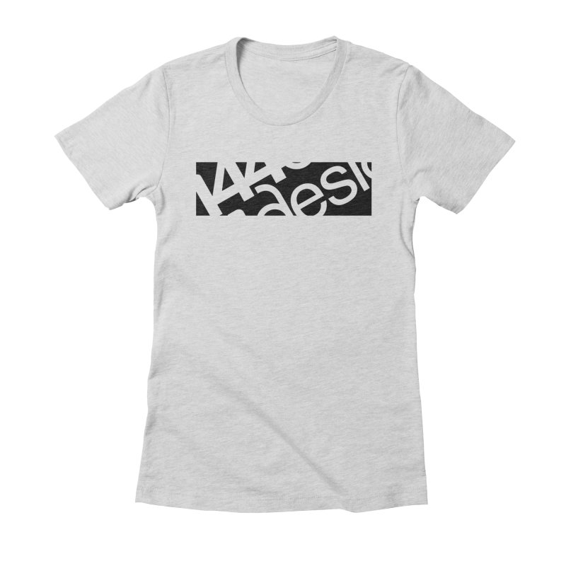 144design-black bar Women's T-Shirt by 144design