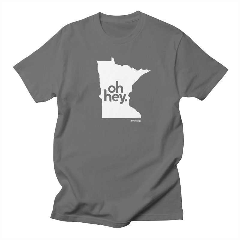 Oh Hey : Minnesota (White) Women's T-Shirt by 144design