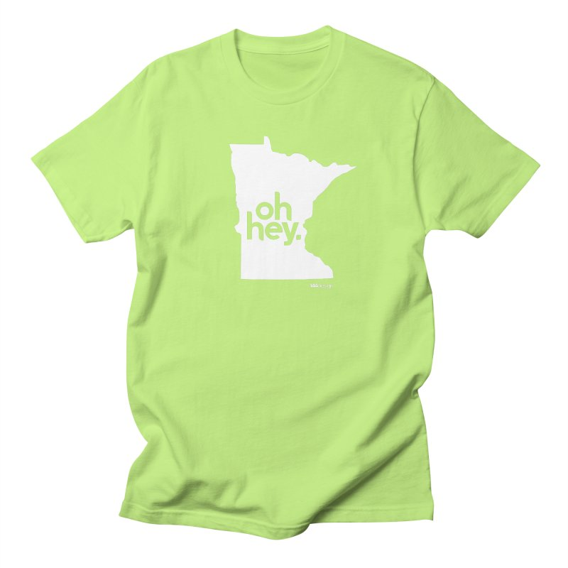 Oh Hey : Minnesota (White) Women's T-Shirt by 144design