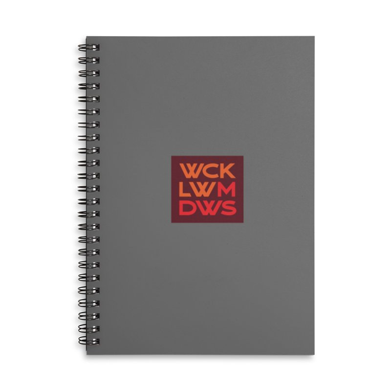 Wicklow Meadows - WCKLWMDWS Accessories Notebook by 144design