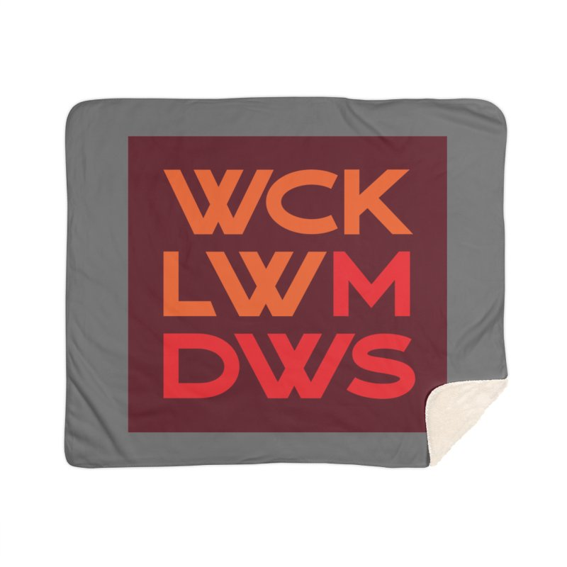 Wicklow Meadows - WCKLWMDWS Home Sherpa Blanket Blanket by 144design